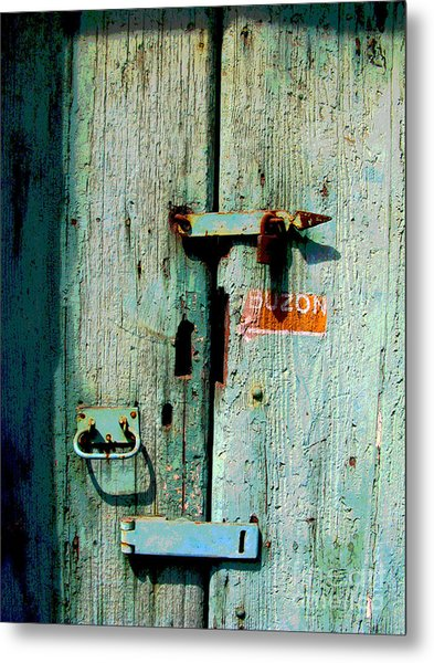 Buzon By Michael Fitzpatrick Metal Print by Mexicolors Art Photography