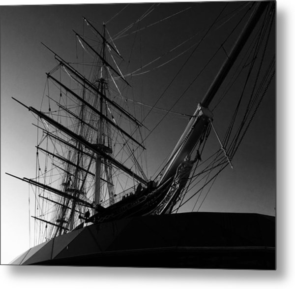 Bw Series Cutty Sark Five Metal Print