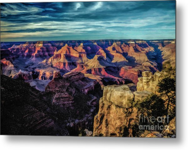 By The Dawns Early Light Metal Print