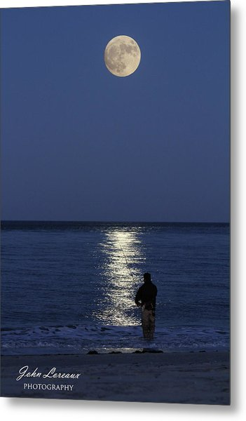 By The Light Of The Supermoon Metal Print