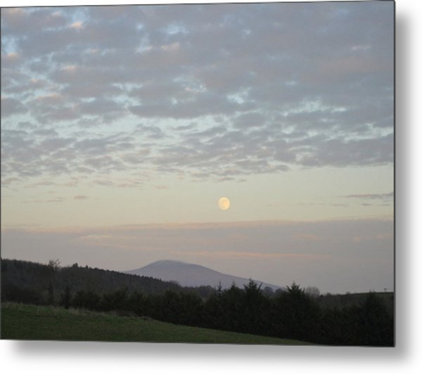 By The Rising Of The Moon Metal Print