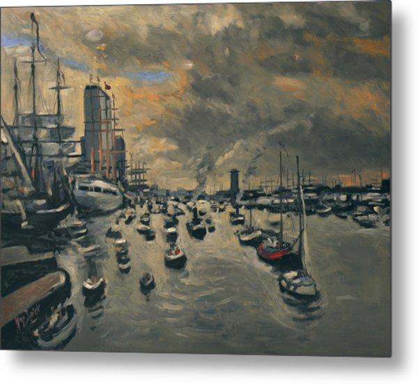 Bye Bye Sail Amsterdam Metal Print