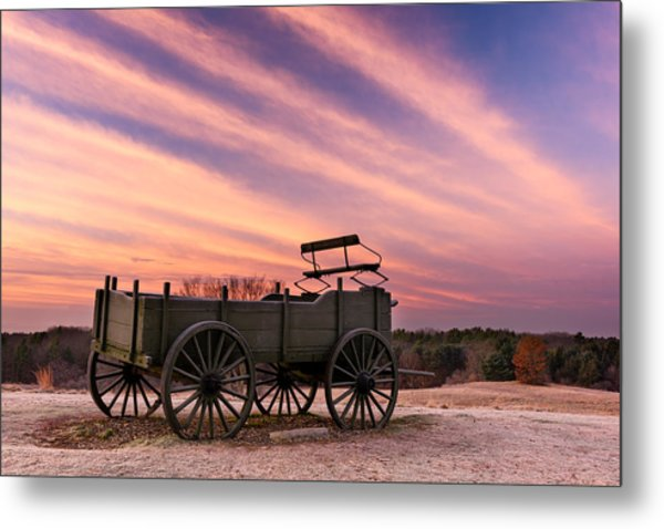 Bygone Days Metal Print