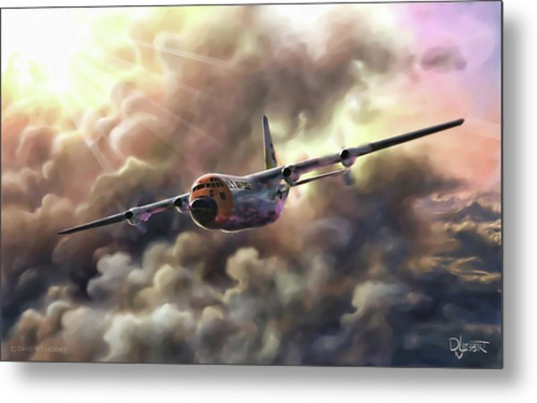 C-130 Hercules Metal Print