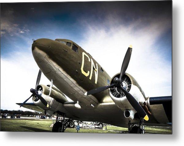 C-47d Skytrain Metal Print
