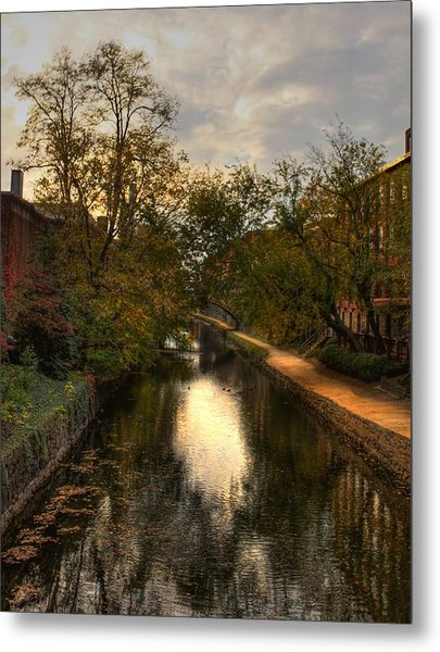 C And O Canal Metal Print by Brian Governale
