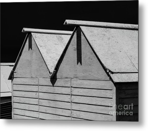 Cabanne Blanche Metal Print