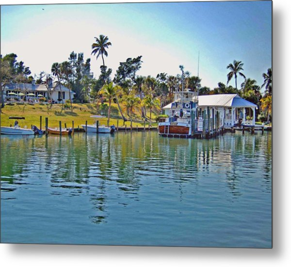 Cabbage Key Metal Print
