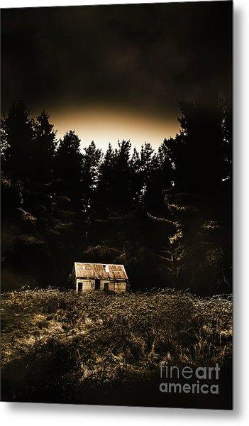 Cabin In The Woodlands  Metal Print