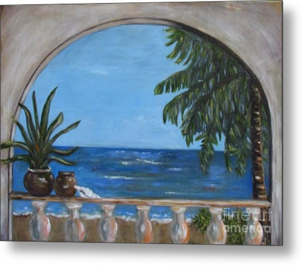 Cabo Arch #2 Metal Print