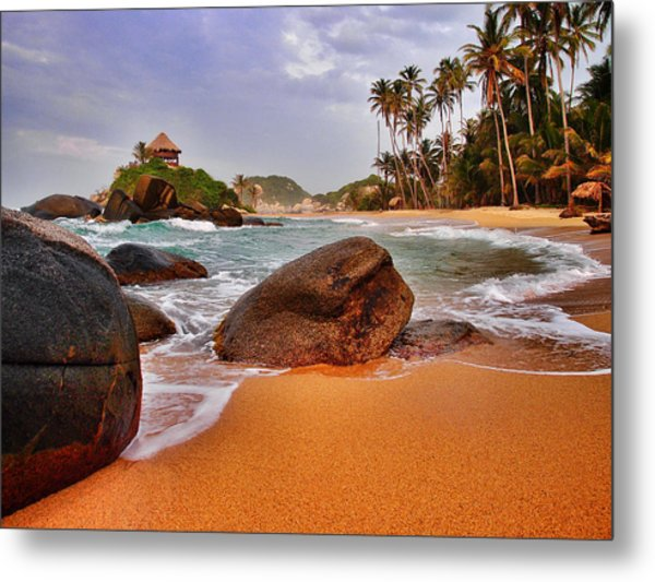 Metal Print featuring the photograph Cabo San Juan by Skip Hunt