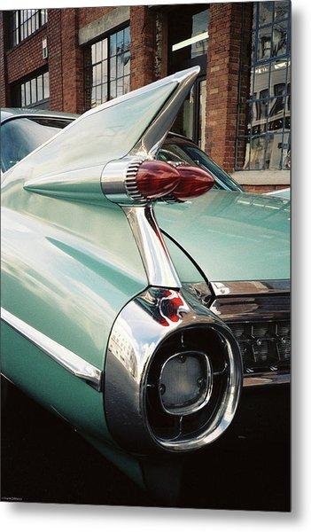 Cadillac Fins Metal Print