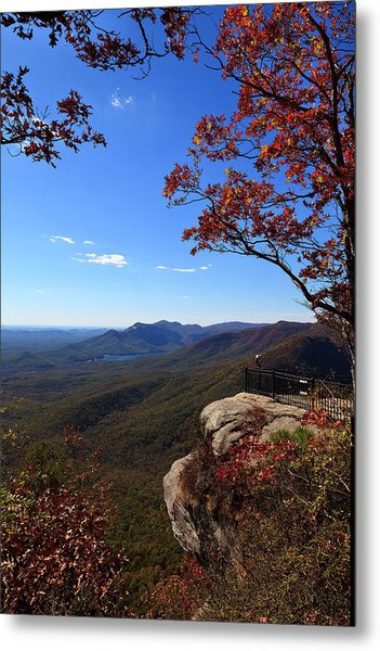 Caesars Head State Park In Upstate South Carolina Metal Print