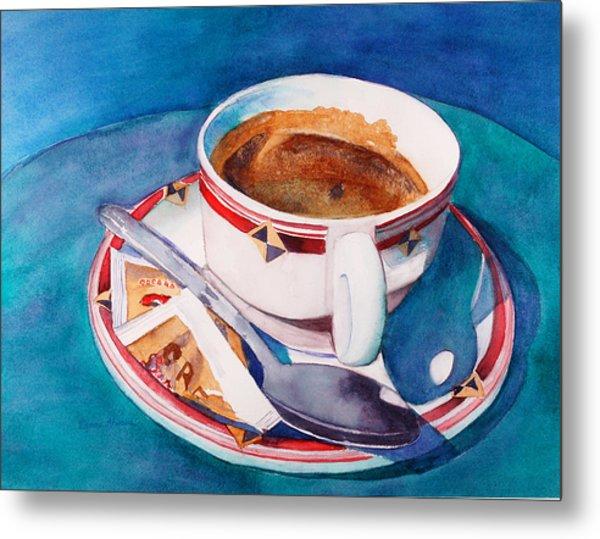 Cafe Con Leche Metal Print