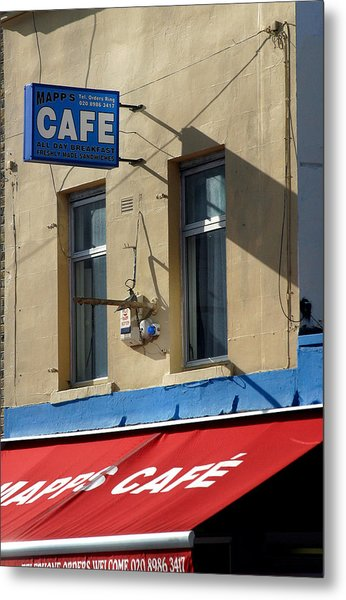 Cafe Old Ford Metal Print by Jez C Self