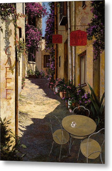 Cafe Piccolo Metal Print