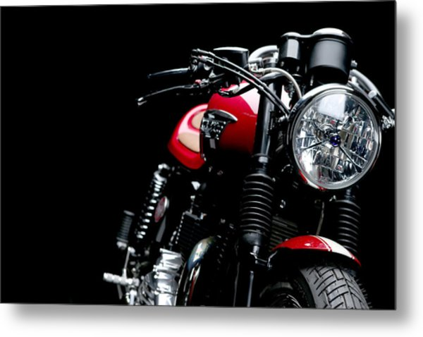 Cafe Racer Metal Print