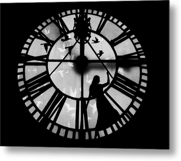 Metal Print featuring the photograph Caged Soul by Marianna Mills