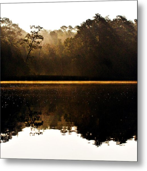 Cahooque Creek Sunrise Metal Print