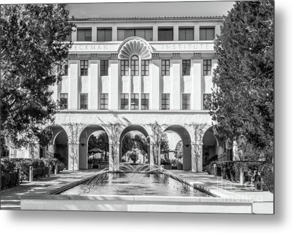 Cal Tech Beckman Institute Metal Print by University Icons