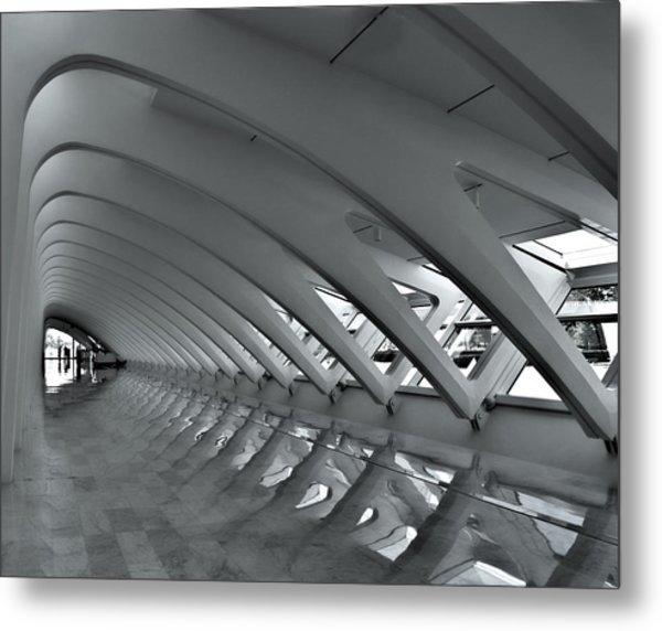 Calatrava 3 Metal Print
