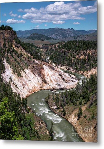 Calcite Springs Overlook  Metal Print