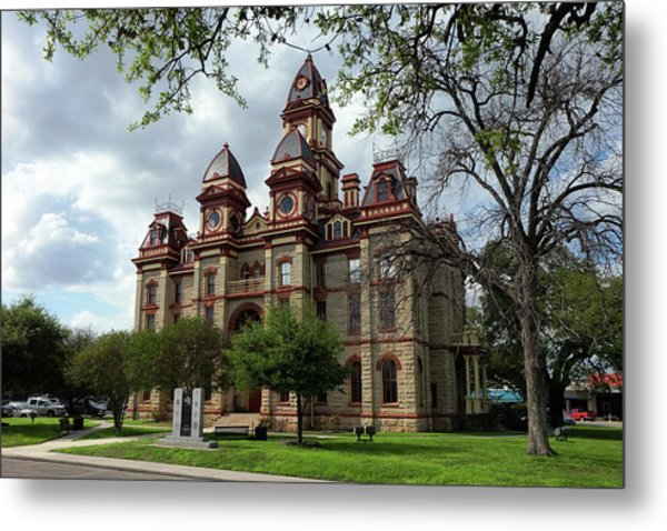 Caldwell County Courthouse Metal Print