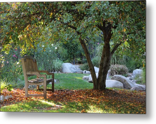 California Autumn Metal Print