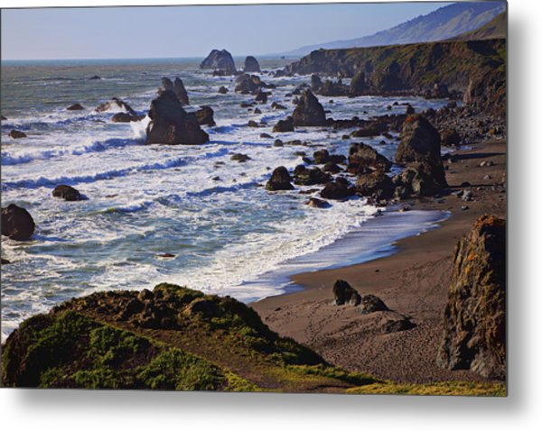 California Coast Sonoma Metal Print