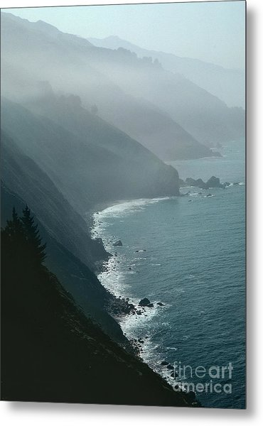 California Coastline Metal Print