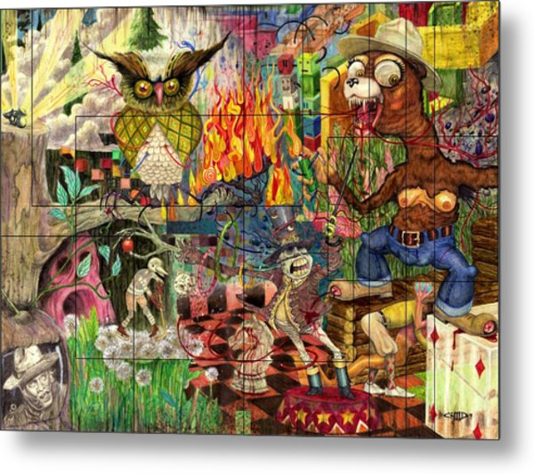 California Dreaming Metal Print by Brian Child
