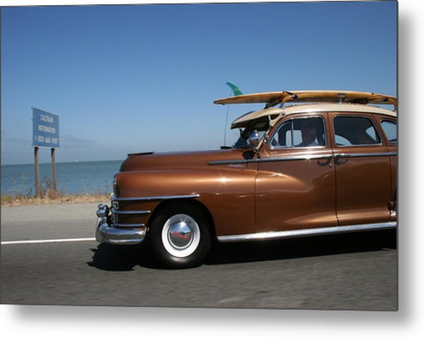 California Dreaming Metal Print by Linda Russell
