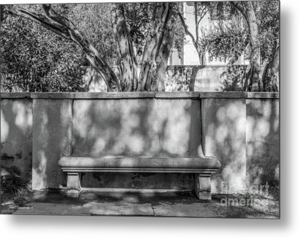 California Institute Of Technology Bench Metal Print by University Icons
