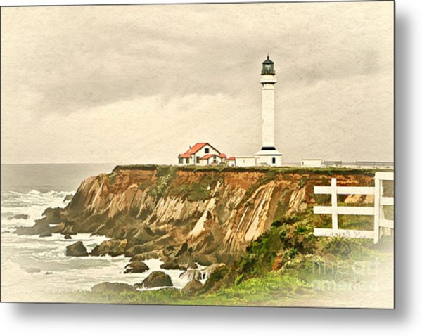 California - Point Arena Lighthouse Metal Print