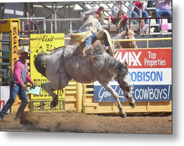 California Rodeo Metal Print