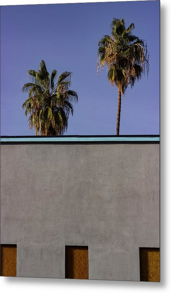 California Rooftop Metal Print