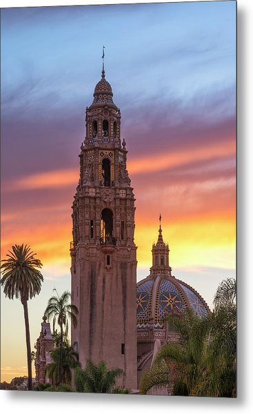 California Sunset #2 Metal Print