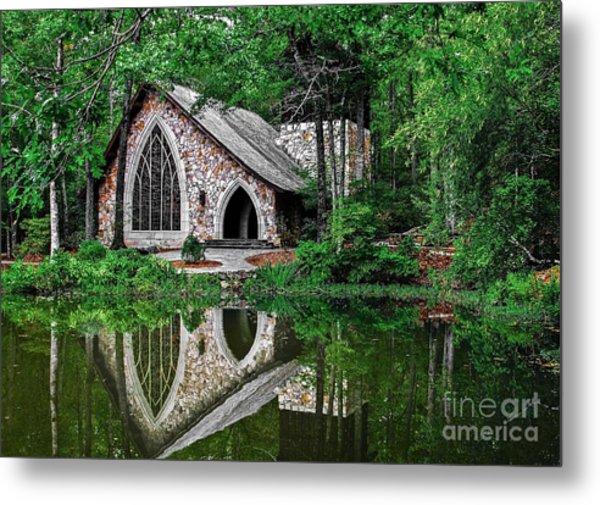 Callaway Gardens Ida Cason Chapel Metal Print
