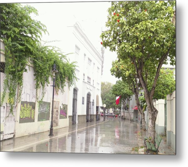 Callejon Amor, Ponce, Puerto Rico Metal Print