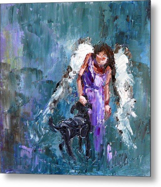Calling All Angels Metal Print by Judy Mackey