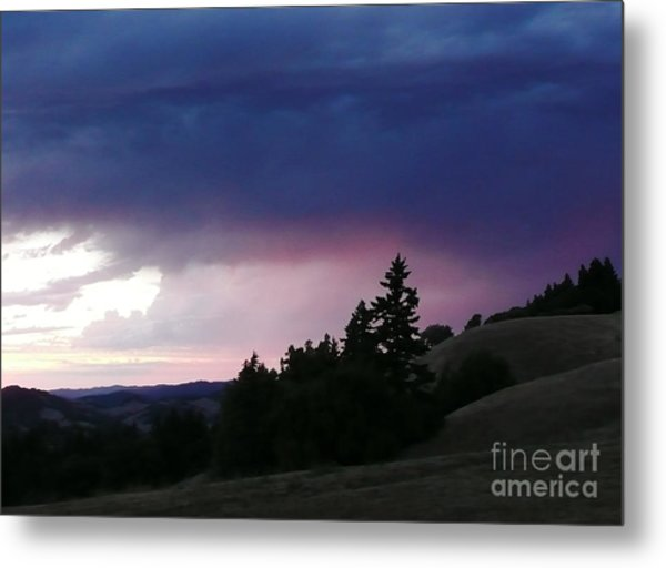 Calm Before The Really Big Storm Metal Print by JoAnn SkyWatcher