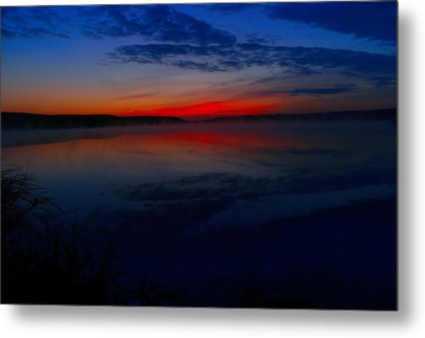 Calm Of Early Morn Metal Print