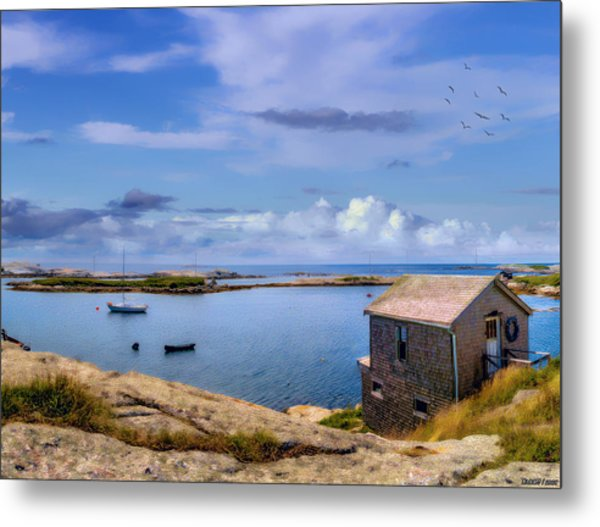 Calm Summer Day In Prospect Metal Print