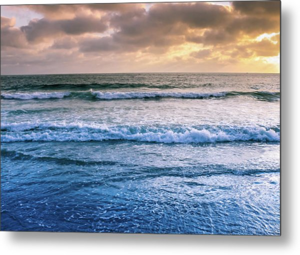 Metal Print featuring the photograph Calming by Alison Frank