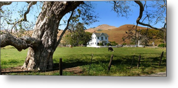 Cambria Farm House Metal Print