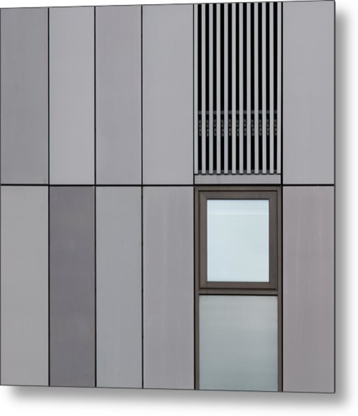Cambridge Window Metal Print