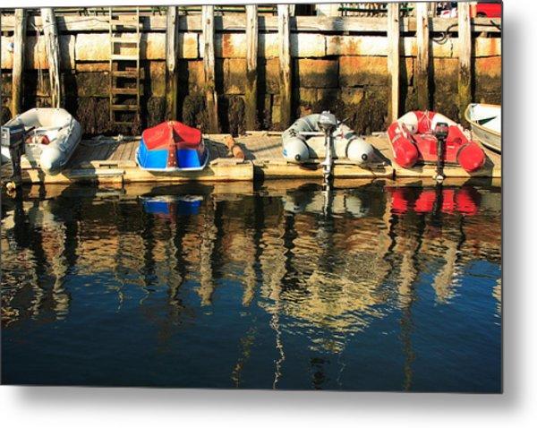 Camden Boats Metal Print