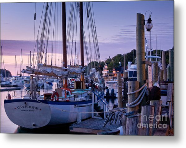 Camden Windjammer Dawn Metal Print