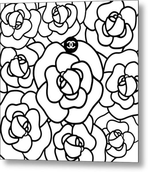 Camellia Cc Metal Print