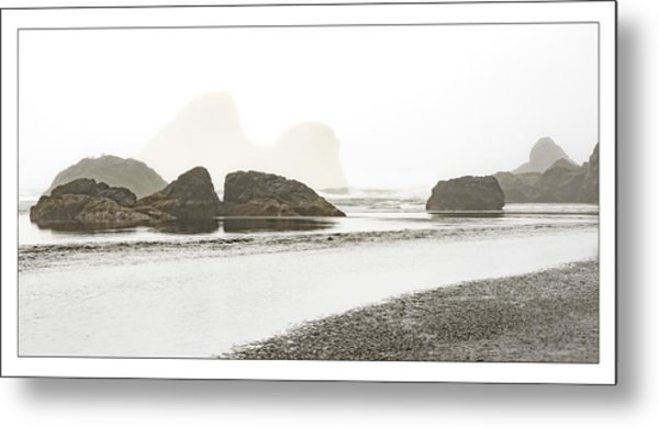 Camel Rock From Moonstone Beach Metal Print